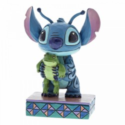Disney Traditions - Strange Life-Forms (Stitch with Frog Figurine)