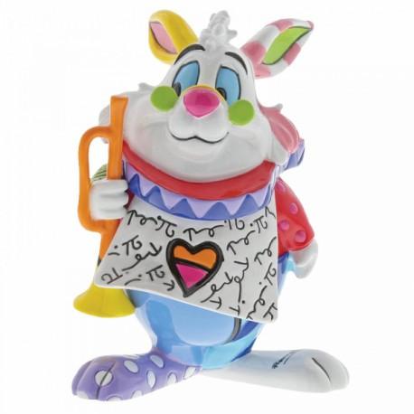 Disney Britto - White Rabbit Mini Figurine