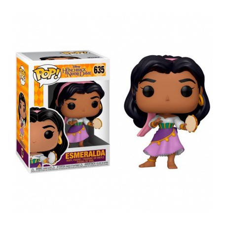 Funko Pop 635 Esmeralda, The Hunchback Of The Notre Dame