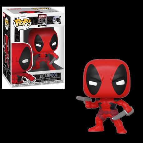 Funko Pop 546 Deadpool, Marvel 80 Years