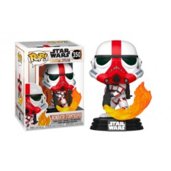Funko Pop 350 Incinerator Stormtrooper, Star Wars The Mandalorian