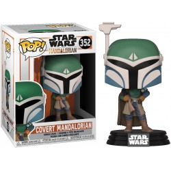 Funko Pop 352 Covert Mandalorian, Star Wars The Mandalorian