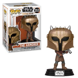 Funko Pop 353 The Armorer, Star Wars The Mandalorian