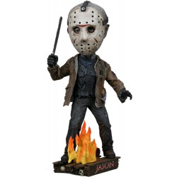 NECA Friday the 13th Head Knocker Bobble-Head Jason