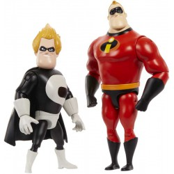 Disney The Incredibles Nemesis Pack (Mr. Incredible vs. Syndrome)