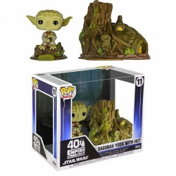Funko Pop 11 Star Wars Town Vinyl Figure Yoda's Hut Empire Strikes Back 40th Anniversary