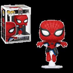 Funko Pop 593 Marvel 80th POP! Marvel Vinyl Figure Spider-Man (First Appearance)