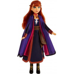 Disney Singing Anna Fashion Doll, Frozen 2