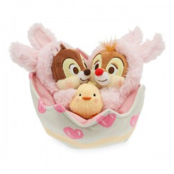 Chip and Dale Easter Plush Set