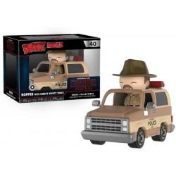 Funko Dorbz Ridez 40 - Stranger Things - Hopper w/ Sheriff Deputy Truck