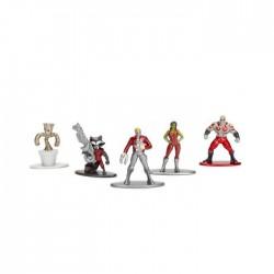Marvel Guardians of the Galaxy Nano Metalfigs 5-Pack 7x20cm