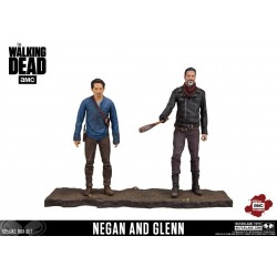 The Walking Dead TV Version Action Figure 2-pack Negan & Glenn