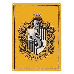 Harry Potter Tin Sign Hufflepuff 21 x 15 cm
