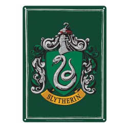 Harry Potter Tin Sign Slytherin 21 x 15 cm