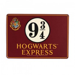 Harry Potter Tin Sign Platform 9 3/4 21 x 15 cm