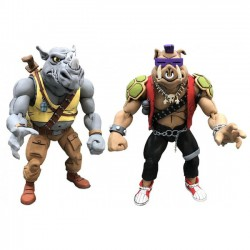 Teenage Mutant Ninja Turtles Action Figure 2-Pack Rocksteady & Bebop 18 cm