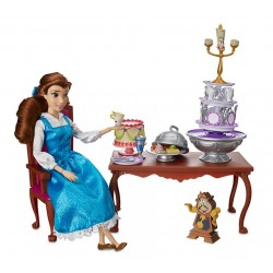 Disney Belle Dinner Party Playset, Beauty and the Beast