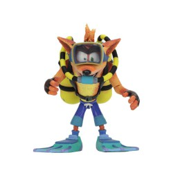 NECA Crash Bandicoot - Action Figure - Deluxe Scuba Crash