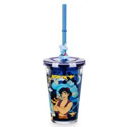 Disney Aladdin Straw Tumbler