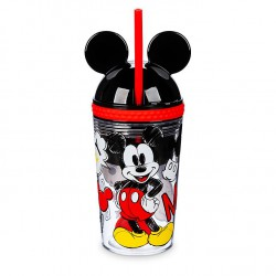 Disney Mickey Mouse Straw Tumbler and Snack Pot