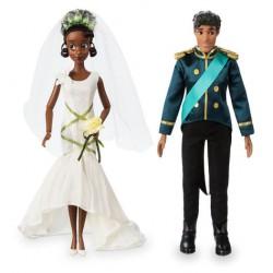 Disney Tiana and Naveen Wedding Doll Set