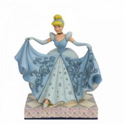 Disney Traditions - Cinderellla Transformation (Cinderella Glass Slipper Figurine)