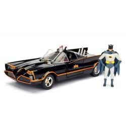 Batman Build N' Collect Diecast Kit 1/24 1966 Classic TV Series Batmobile with figures