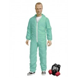 Breaking Bad Action Figure Jesse Pinkman in Blue Hazmat Suit Previews Exclusive