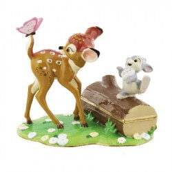 Disney Classic Trinket Box, Bambi & Friends