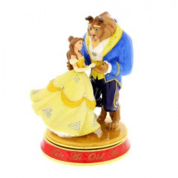 Disney Classic Trinket Box, Beauty and the Beast