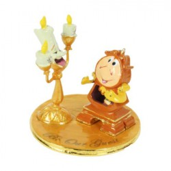 Disney Classic Lumiere and Cogsworth, Beauty and the Beast