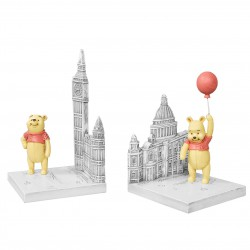 Disney Christopher Robin Resin Bookends Winnie The Pooh