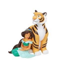 Disney Magical Moments Jasmine and Rajah Figurine