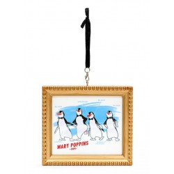 Disney Penguin Waiters Ink & Paint Hanging Ornament, Mary Poppins
