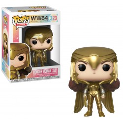 Funko Pop 323 Wonder Woman Golden Armor, Wonder Woman 1984