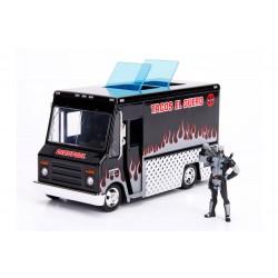 Deadpool Diecast Model 1/24 Deadpool Taco Truck X-Force
