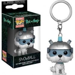Funko Pocket Pop Keychain Snowball, Rick & Morty