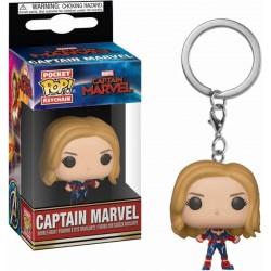 Funko Pocket Pop Keychain Captain Marvel (Unmasked)