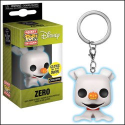Funko Pocket Pop Keychain Zero, The Nightmare Before Christmas