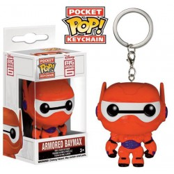 Funko Pocket Pop Keychain Armored Baymax, Big Hero 6