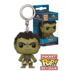 Funko Pocket Pop Keychain Hulk (Vers 2), Thor Ragnarok