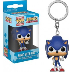Funko Pocket Pop Keychain Sonic with Ring