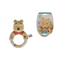 Disney Winnie The Pooh Ring Rattle with Plush