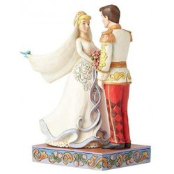 Disney Traditions - Cinderella and Prince Charming Wedding Figurine