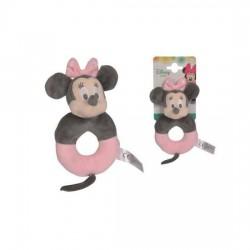 Disney Minnie Mouse Tonal Plush Rattle