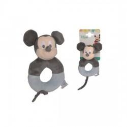 Disney Mickey Mouse Tonal Plush Rattle