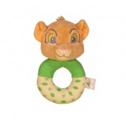 Disney Simba Plush Rattle