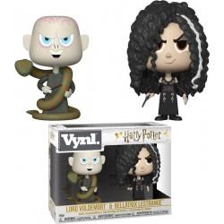 """VYNL 4"""" 2-Pack Harry Potter: Lord Voldemort & Bellatrix Lestrange"""