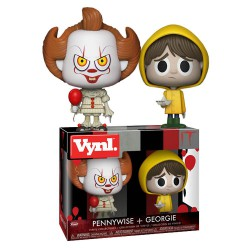 """VYNL 4"""" 2-Pack IT: Pennywise & Georgie"""