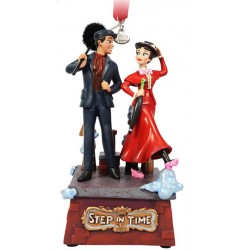 Disney Mary Poppins and Bert Singing Hanging Ornament